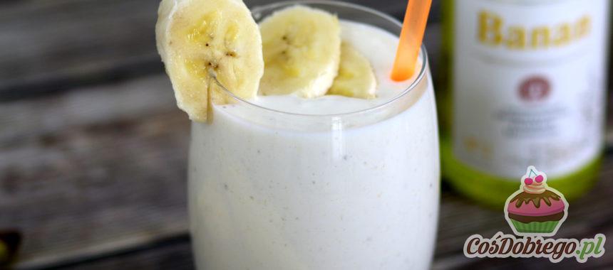 Przepis na Bananowo-śmietankowy koktajl