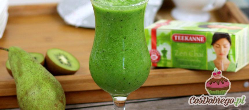 Przepis na Koktajl z zieloną herbatą