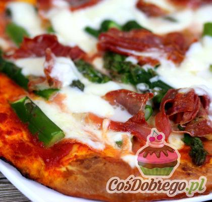 Pizza Ze Szparagami 02