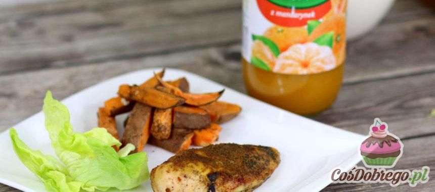 Przepis na Filet z kurczaka w mandarynkowo – imbirowej marynacie