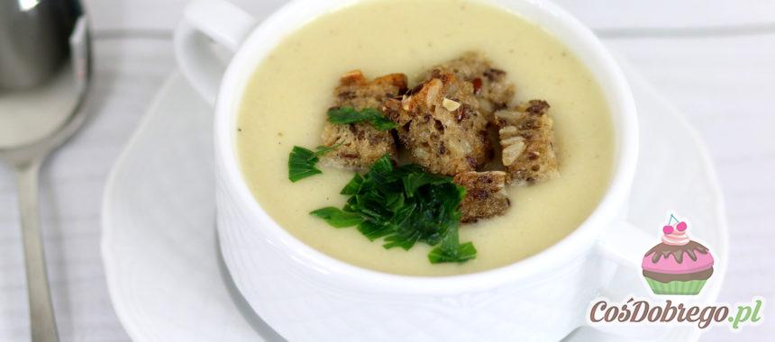 Przepis na Zupę krem z białych warzyw