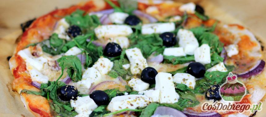 Przepis na Pizzę ze szpinakiem i serem feta