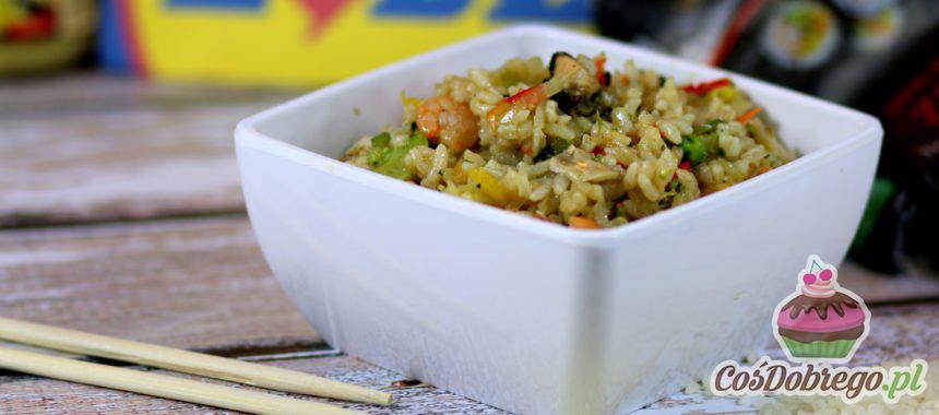 Przepis na Smażony ryż z woka